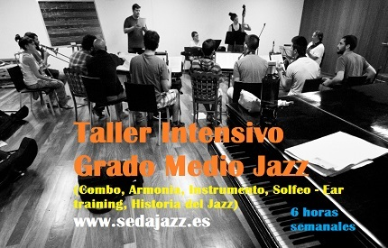 taller intensivo grado medio jazz